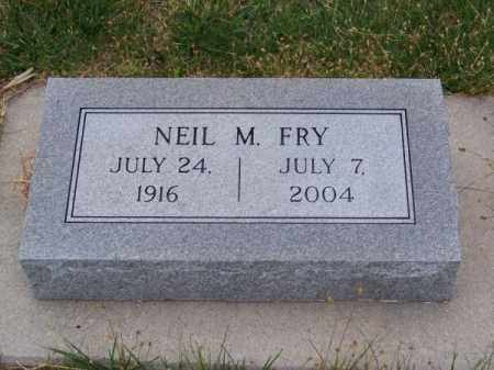FRY, NEIL M. - Brown County, Nebraska | NEIL M. FRY - Nebraska Gravestone Photos