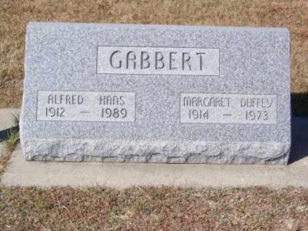 GABBERT, MARGARET DUFFEY - Brown County, Nebraska | MARGARET DUFFEY GABBERT - Nebraska Gravestone Photos