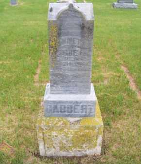 GABBERT, HENRIETTE - Brown County, Nebraska | HENRIETTE GABBERT - Nebraska Gravestone Photos