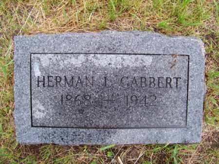 GABBERT, HERMAN L. - Brown County, Nebraska | HERMAN L. GABBERT - Nebraska Gravestone Photos