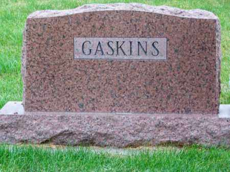GASKINS, FAMILY - Brown County, Nebraska | FAMILY GASKINS - Nebraska Gravestone Photos