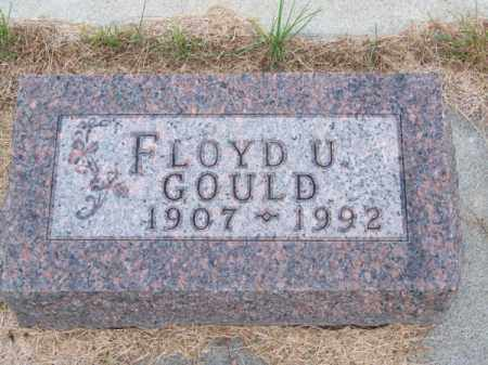 GOULD, FLOYD U. - Brown County, Nebraska | FLOYD U. GOULD - Nebraska Gravestone Photos