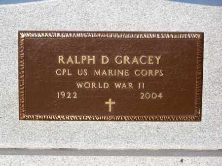 GRACEY, RALPH D. - Brown County, Nebraska | RALPH D. GRACEY - Nebraska Gravestone Photos