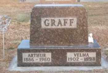 GRAFF, ARTHUR - Brown County, Nebraska | ARTHUR GRAFF - Nebraska Gravestone Photos