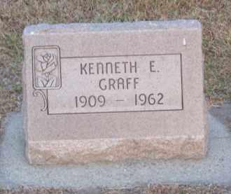 GRAFF, KENNETH E. - Brown County, Nebraska | KENNETH E. GRAFF - Nebraska Gravestone Photos