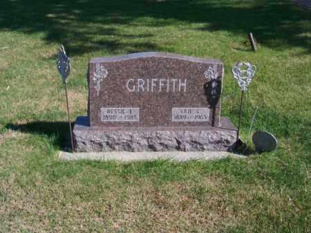 GRIFFITH, IRA L. - Brown County, Nebraska | IRA L. GRIFFITH - Nebraska Gravestone Photos