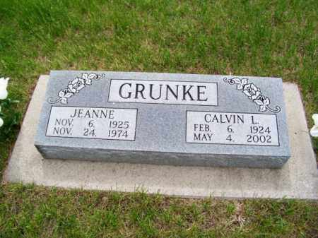 GRUNKE, CALVIN L. - Brown County, Nebraska   CALVIN L. GRUNKE - Nebraska Gravestone Photos