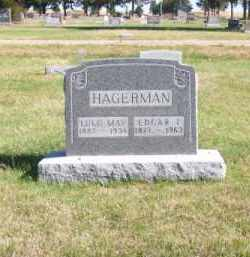 HAGERMAN, LULU MAY - Brown County, Nebraska   LULU MAY HAGERMAN - Nebraska Gravestone Photos