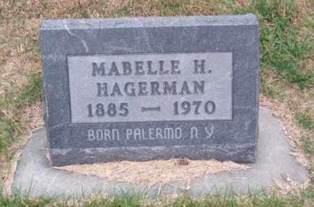 HAGERMAN, MABELLE H. - Brown County, Nebraska | MABELLE H. HAGERMAN - Nebraska Gravestone Photos