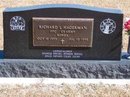 HAGERMAN, RICHARD L. - Brown County, Nebraska | RICHARD L. HAGERMAN - Nebraska Gravestone Photos