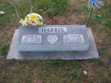 HARRIS, HUGH K. - Brown County, Nebraska | HUGH K. HARRIS - Nebraska Gravestone Photos