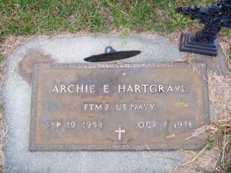 HARTGRAVE, ARCHIE E. - Brown County, Nebraska   ARCHIE E. HARTGRAVE - Nebraska Gravestone Photos