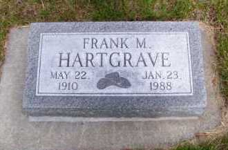 HARTGRAVE, FRANK M. - Brown County, Nebraska   FRANK M. HARTGRAVE - Nebraska Gravestone Photos
