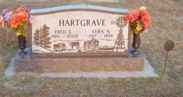 HARTGRAVE, FRED E. - Brown County, Nebraska | FRED E. HARTGRAVE - Nebraska Gravestone Photos