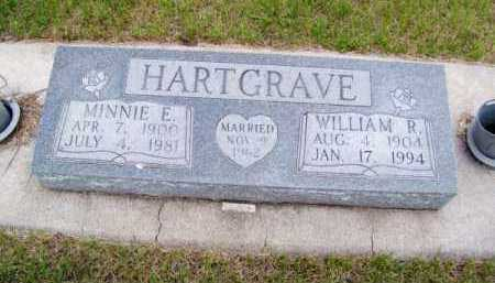 HARTGRAVE, MINNIE E. - Brown County, Nebraska | MINNIE E. HARTGRAVE - Nebraska Gravestone Photos