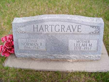 HARTGRAVE, NORMAN R. - Brown County, Nebraska | NORMAN R. HARTGRAVE - Nebraska Gravestone Photos