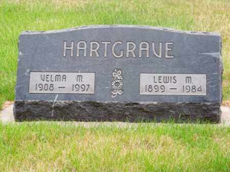 HARTGRAVE, LEWIS M. - Brown County, Nebraska   LEWIS M. HARTGRAVE - Nebraska Gravestone Photos