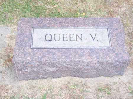 HARVEY, QUEEN V. - Brown County, Nebraska | QUEEN V. HARVEY - Nebraska Gravestone Photos