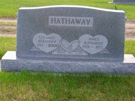 HATHAWAY, LULAMAE - Brown County, Nebraska | LULAMAE HATHAWAY - Nebraska Gravestone Photos