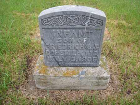 HERMSMEYER, INFANT SON - Brown County, Nebraska | INFANT SON HERMSMEYER - Nebraska Gravestone Photos