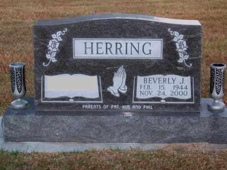HERRING, BEVERLY J. - Brown County, Nebraska | BEVERLY J. HERRING - Nebraska Gravestone Photos