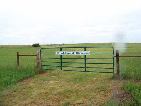 *HIGHLAND GROVE CEMETERY, GATE - Brown County, Nebraska | GATE *HIGHLAND GROVE CEMETERY - Nebraska Gravestone Photos