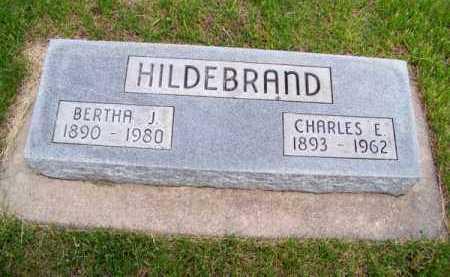 HILDEBRAND, BERTHA J. - Brown County, Nebraska   BERTHA J. HILDEBRAND - Nebraska Gravestone Photos