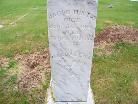 HINTZ, JACOB - Brown County, Nebraska | JACOB HINTZ - Nebraska Gravestone Photos