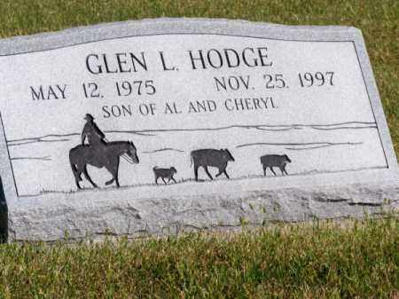 HODGE, GLEN L. - Brown County, Nebraska | GLEN L. HODGE - Nebraska Gravestone Photos
