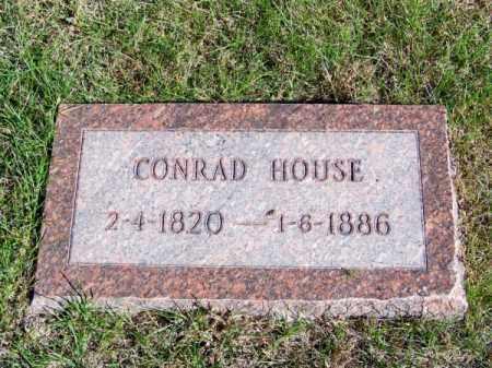 HOUSE, CONRAD - Brown County, Nebraska | CONRAD HOUSE - Nebraska Gravestone Photos