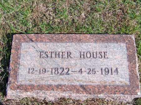 HOUSE, ESTHER - Brown County, Nebraska | ESTHER HOUSE - Nebraska Gravestone Photos