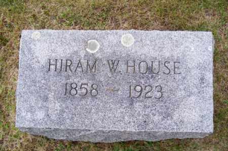 HOUSE, HIRAM W. - Brown County, Nebraska   HIRAM W. HOUSE - Nebraska Gravestone Photos