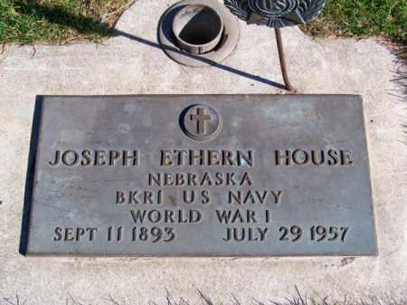 HOUSE, JOSEPH ETHERN - Brown County, Nebraska | JOSEPH ETHERN HOUSE - Nebraska Gravestone Photos