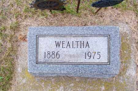 HOUSE, WEALTHA - Brown County, Nebraska | WEALTHA HOUSE - Nebraska Gravestone Photos