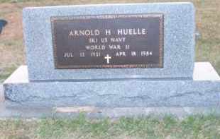 HUELLE, ARNOLD H. - Brown County, Nebraska   ARNOLD H. HUELLE - Nebraska Gravestone Photos