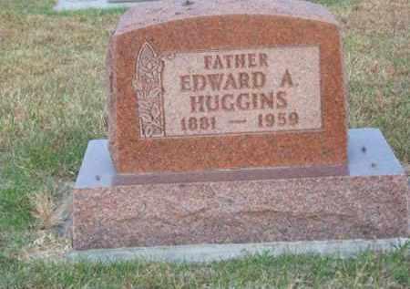 HUGGINS, EDWARD A. - Brown County, Nebraska | EDWARD A. HUGGINS - Nebraska Gravestone Photos