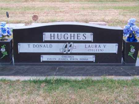 HUGHES, T. DONALD - Brown County, Nebraska | T. DONALD HUGHES - Nebraska Gravestone Photos