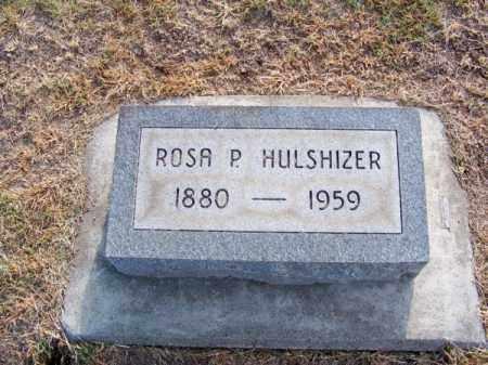HULSHIZER, ROSA P. - Brown County, Nebraska   ROSA P. HULSHIZER - Nebraska Gravestone Photos