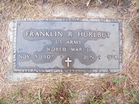 HURLBUT, FRANKLIN R. - Brown County, Nebraska | FRANKLIN R. HURLBUT - Nebraska Gravestone Photos