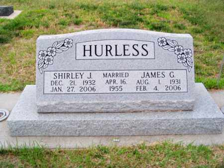 HURLESS, JAMES G. - Brown County, Nebraska | JAMES G. HURLESS - Nebraska Gravestone Photos