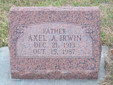 IRWIN, AXEL A. - Brown County, Nebraska | AXEL A. IRWIN - Nebraska Gravestone Photos
