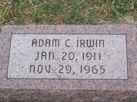 IRWIN, ADAM C. - Brown County, Nebraska | ADAM C. IRWIN - Nebraska Gravestone Photos