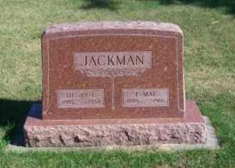 JACKMAN, E. MAE - Brown County, Nebraska | E. MAE JACKMAN - Nebraska Gravestone Photos