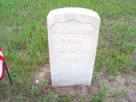 JACKSON, J. M. - Brown County, Nebraska | J. M. JACKSON - Nebraska Gravestone Photos
