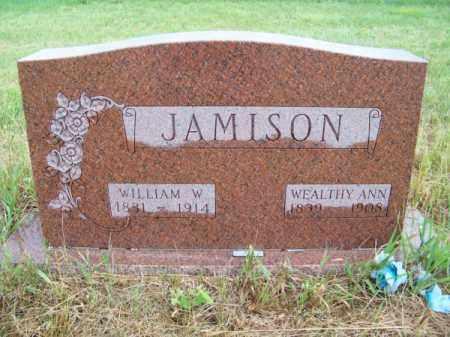 JAMISON, WILLIAM W. - Brown County, Nebraska | WILLIAM W. JAMISON - Nebraska Gravestone Photos