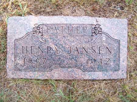 JANSEN, HENRY - Brown County, Nebraska   HENRY JANSEN - Nebraska Gravestone Photos