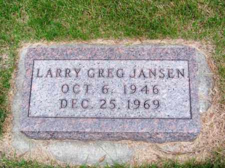 JANSEN, LARRY GREG - Brown County, Nebraska | LARRY GREG JANSEN - Nebraska Gravestone Photos