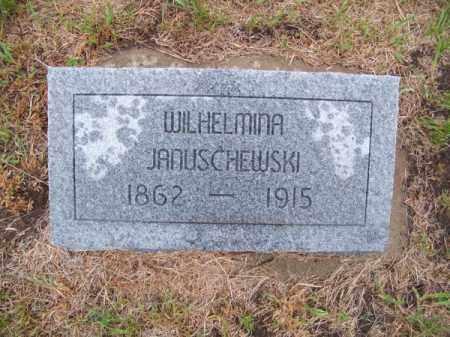 JANUSCHEWSKI, WILHELMINA - Brown County, Nebraska   WILHELMINA JANUSCHEWSKI - Nebraska Gravestone Photos