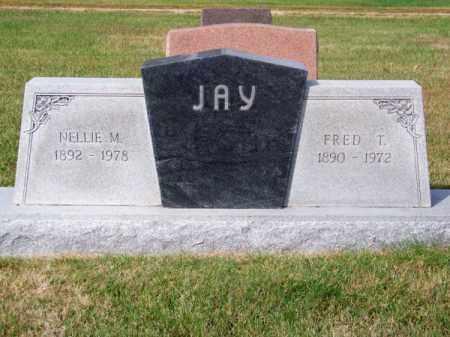 JAY, NELLIE M. - Brown County, Nebraska | NELLIE M. JAY - Nebraska Gravestone Photos