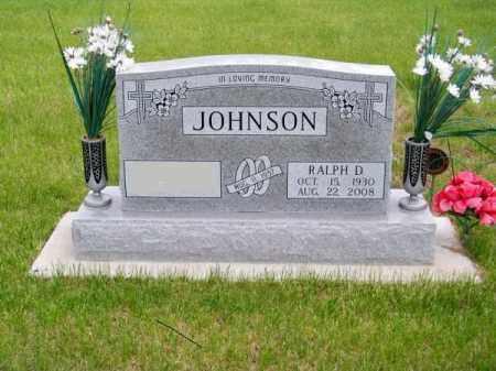 JOHNSON, RALPH D. - Brown County, Nebraska | RALPH D. JOHNSON - Nebraska Gravestone Photos